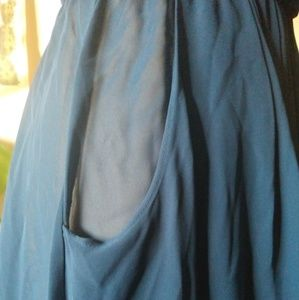 Vintage Dresses - Beautiful Sheer Dress with Pockets